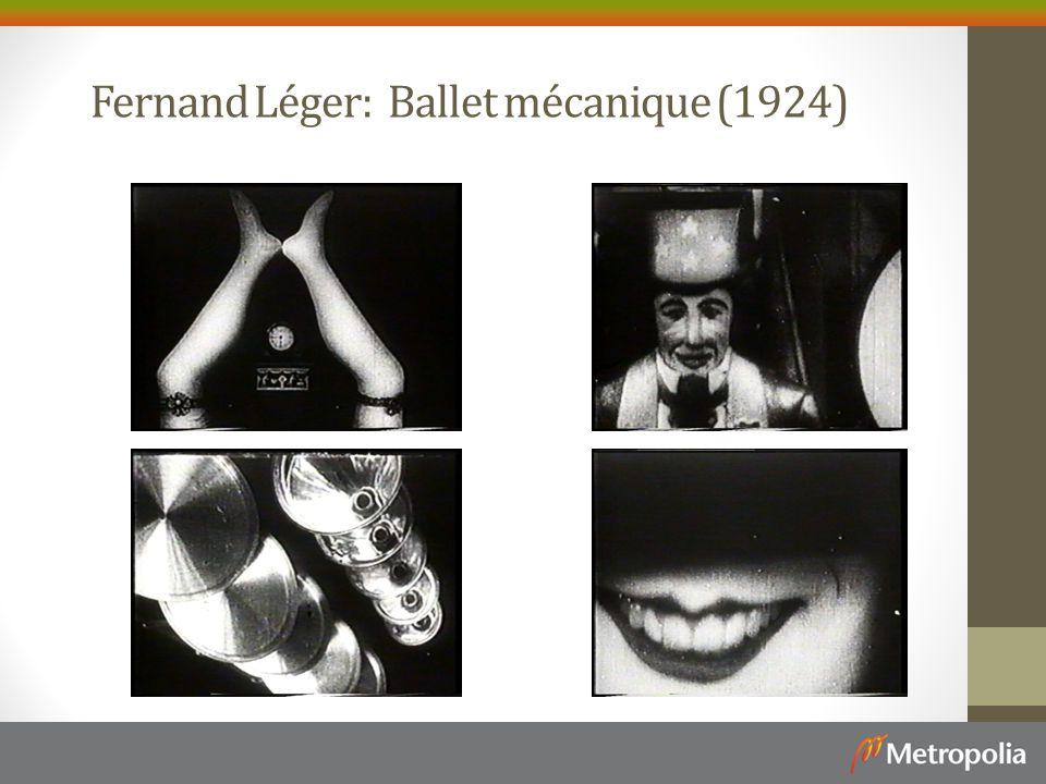 Fernand Léger: Ballet mécanique (1924)