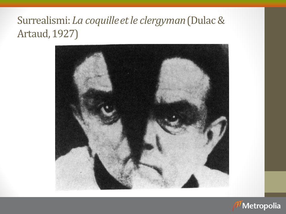 Surrealismi: La coquille et le clergyman (Dulac & Artaud, 1927)