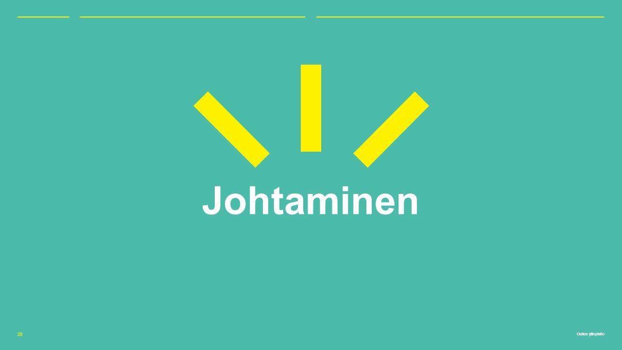 Oulun yliopisto Johtaminen 20