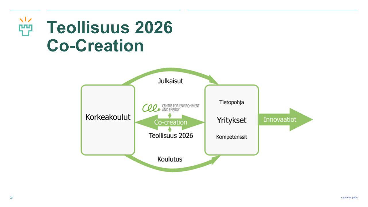 Oulun yliopisto Teollisuus 2026 Co-Creation 27