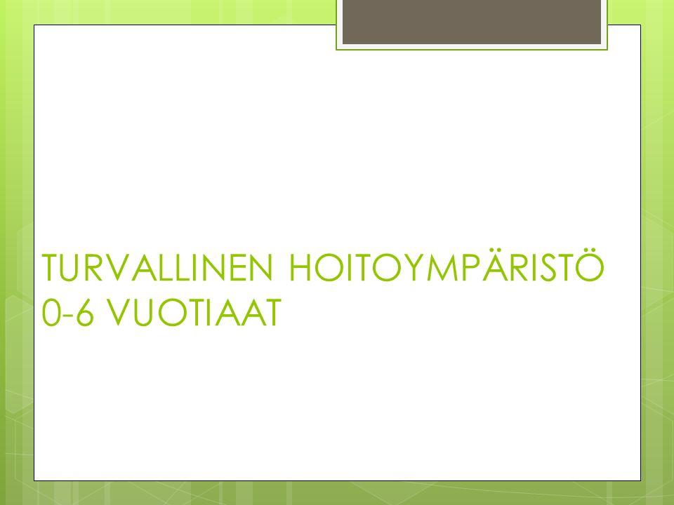 TURVALLINEN HOITOYMPÄRISTÖ 0-6 VUOTIAAT