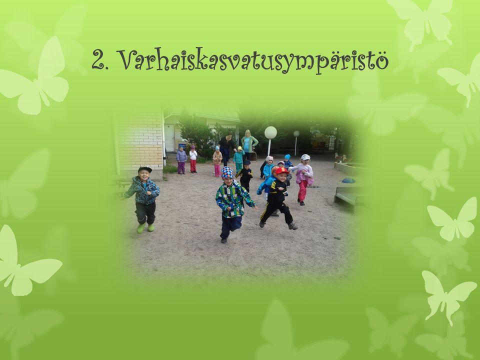 2. Varhaiskasvatusympäristö