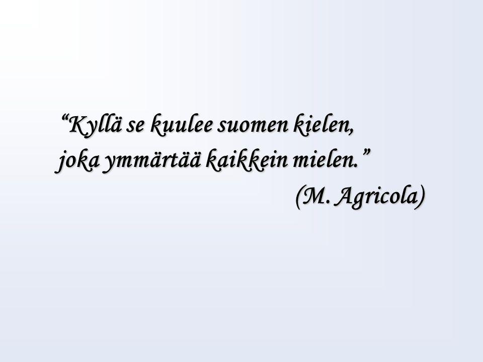 Maamme - laulu Johan Ludvig Runebergia kutsutaan Suomen kansalliskirjailijaksi, joka on kirjoittanut Maamme-laulun sanat Oi maamme Suomi, synnyinmaa, Soi, sana kultainen.