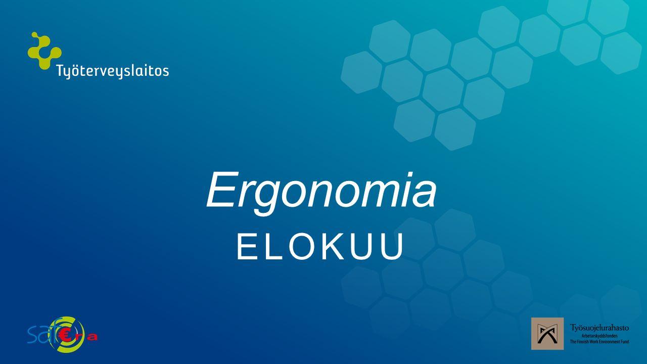 Ergonomia ELOKUU