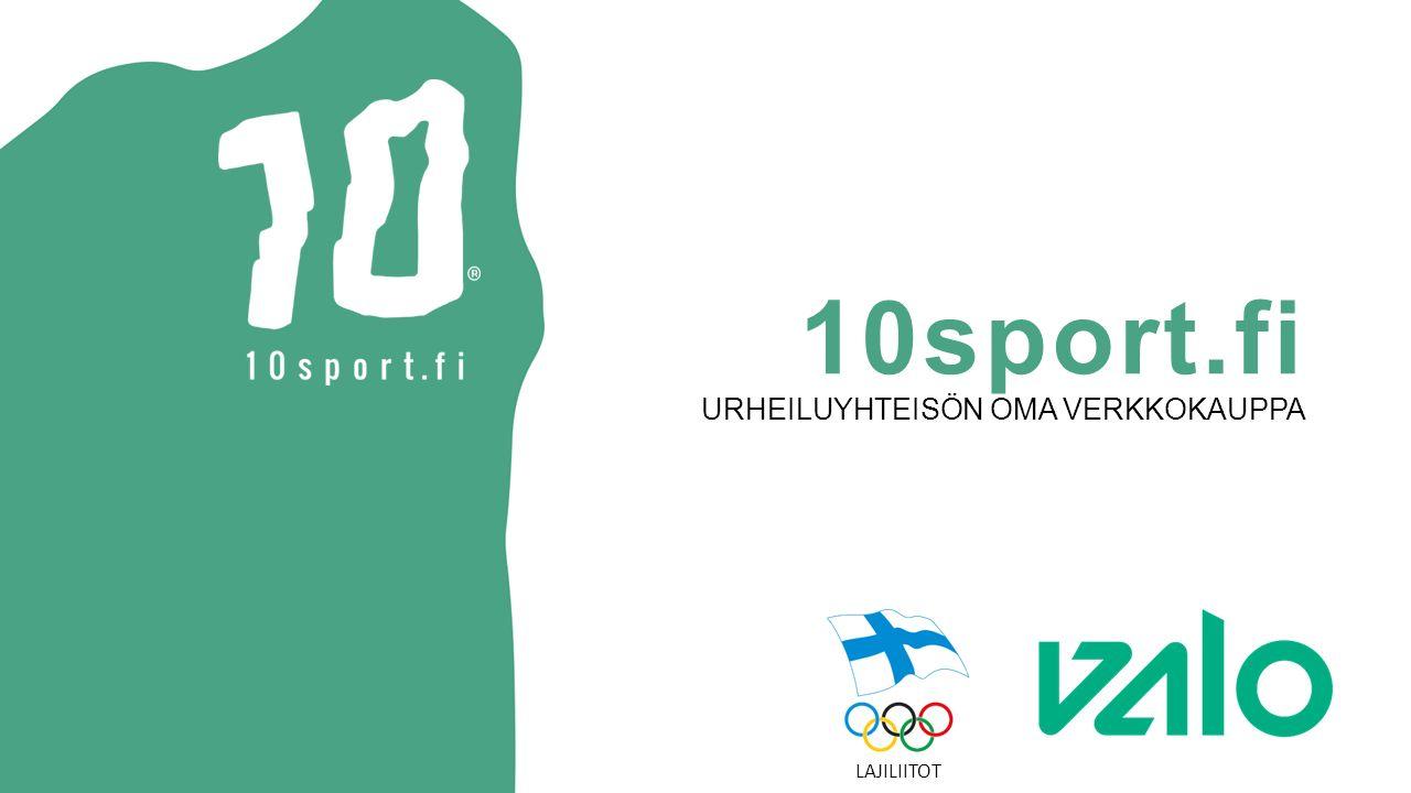 10sport.fi URHEILUYHTEISÖN OMA VERKKOKAUPPA LAJILIITOT