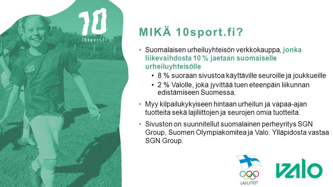 MIKÄ 10sport.fi.