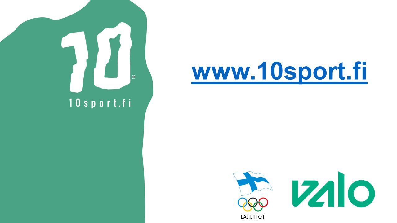 www.10sport.fi LAJILIITOT
