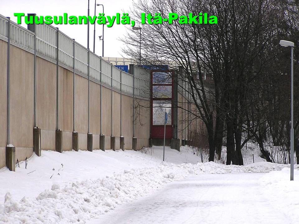 25.10.2007PTL 33 seminaari19 Tuusulanväylä, Itä-Pakila