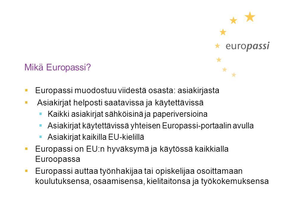 Mikä Europassi.