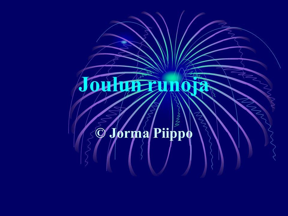 Joulun runoja © Jorma Piippo