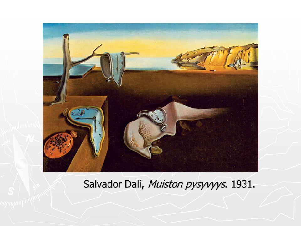 Salvador Dali, Muiston pysyvyys. 1931. ► Surr ealism i