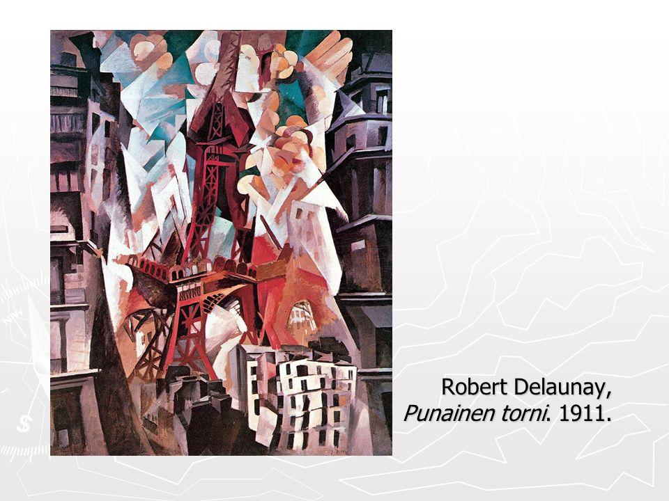 Robert Delaunay, Punainen torni. 1911.