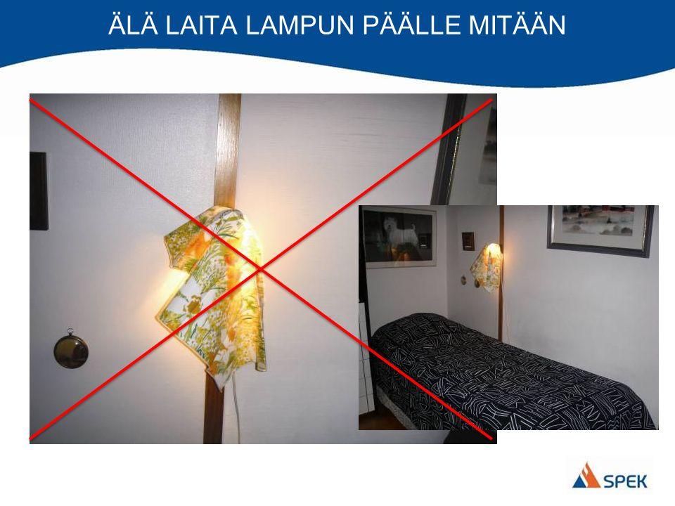 ÄLÄ LAITA LAMPUN PÄÄLLE MITÄÄN