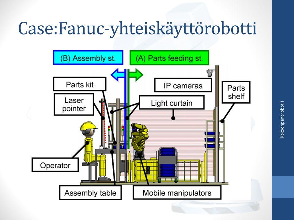 Case:Fanuc-yhteiskäyttörobotti Kokoonpanorobotit