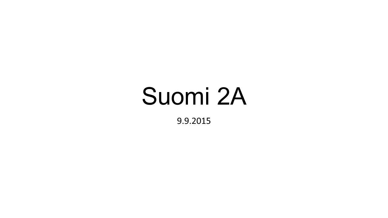 Suomi 2A 9.9.2015