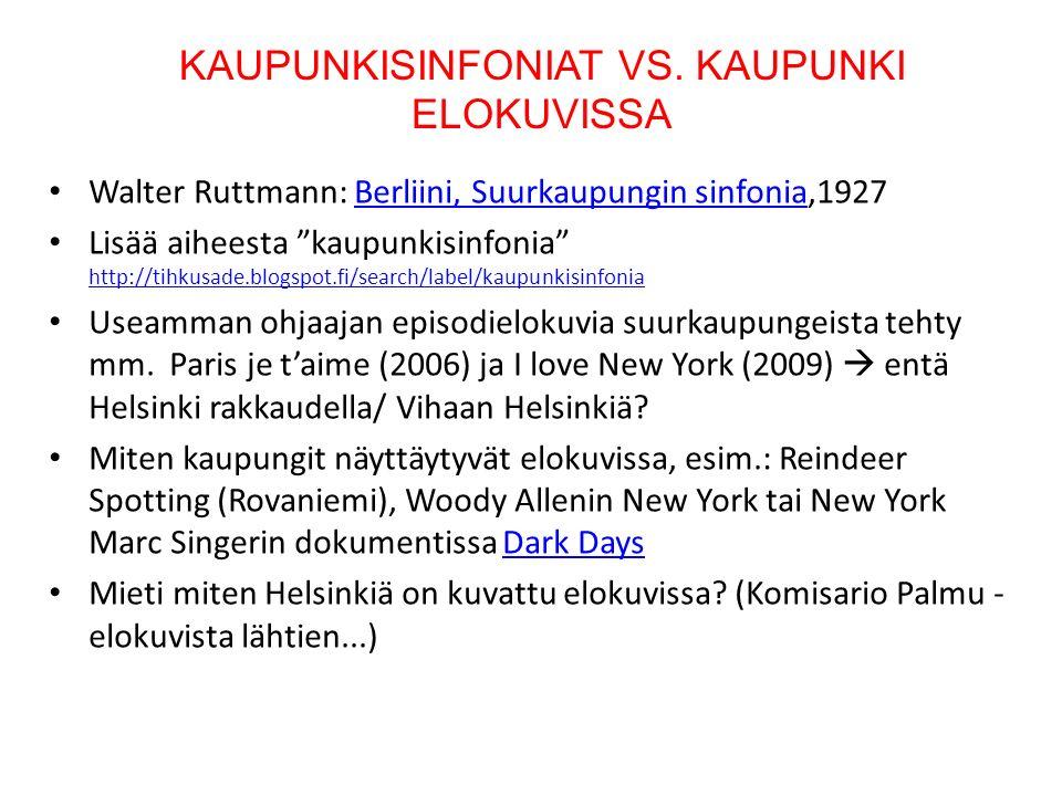 KAUPUNKISINFONIAT VS.