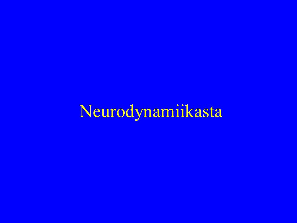 Neurodynamiikasta