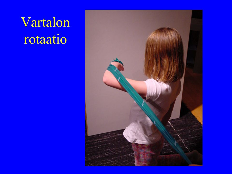 Vartalon rotaatio