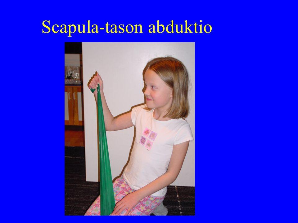 Scapula-tason abduktio