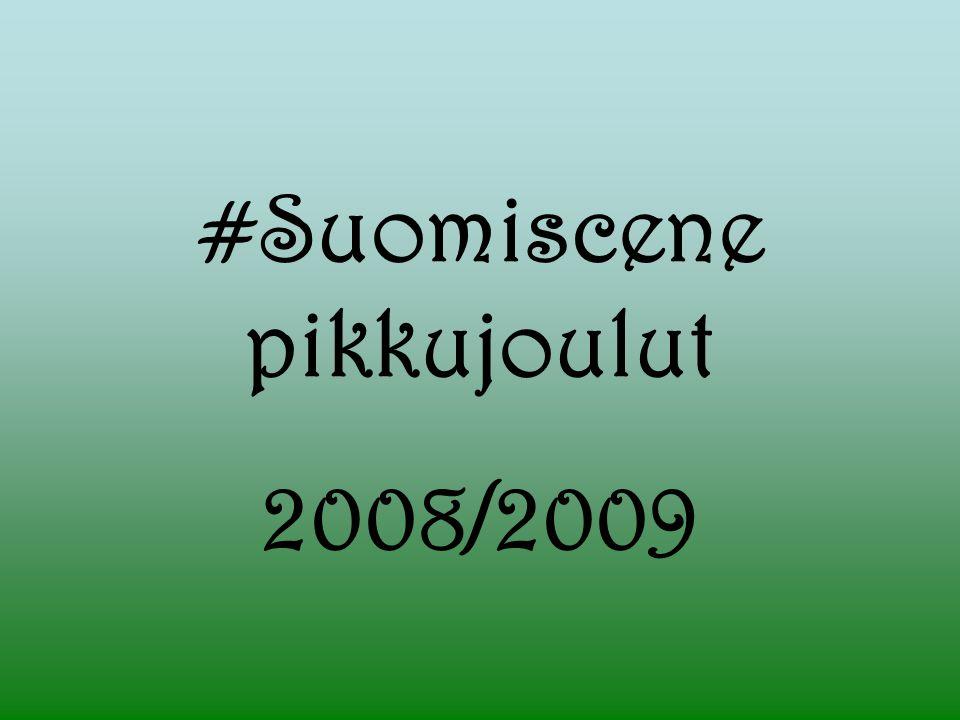 #Suomiscene pikkujoulut 2008/2009