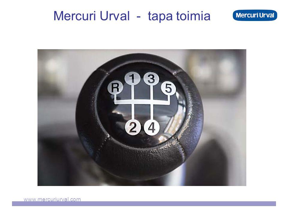 www.mercuriurval.com Mercuri Urval - tapa toimia