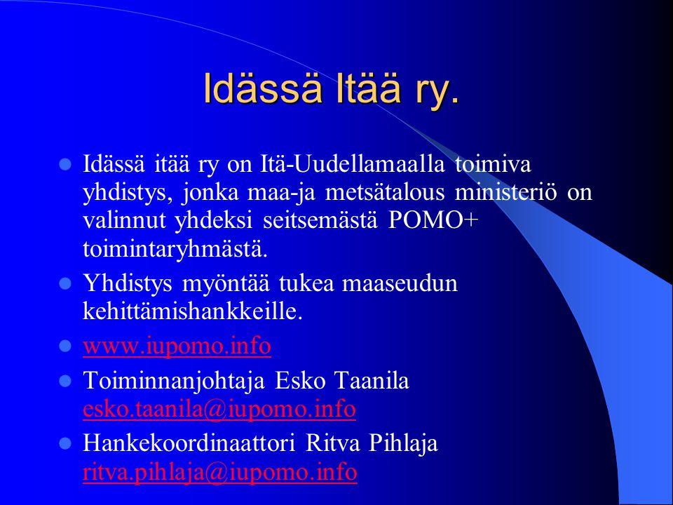 Itä-Uudenmaan kylät ry.