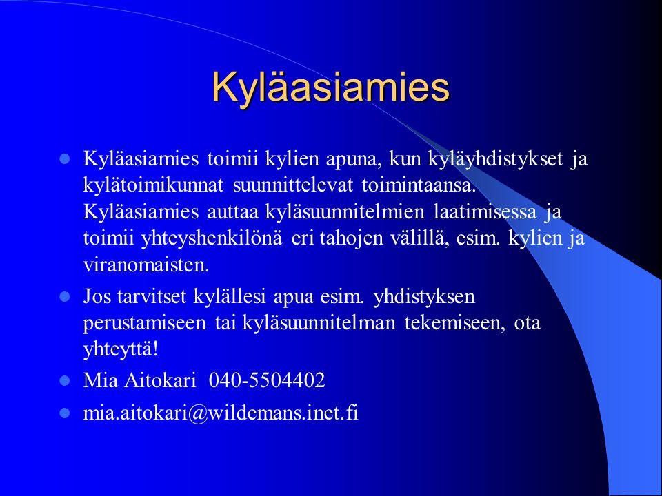 KV- hanke  Itä-Uudenmaan kylät ry on aloittanut yhteistyön Helsingin yliopiston maatalous- ja metsätieteellisen tiedekunnan kanssa.