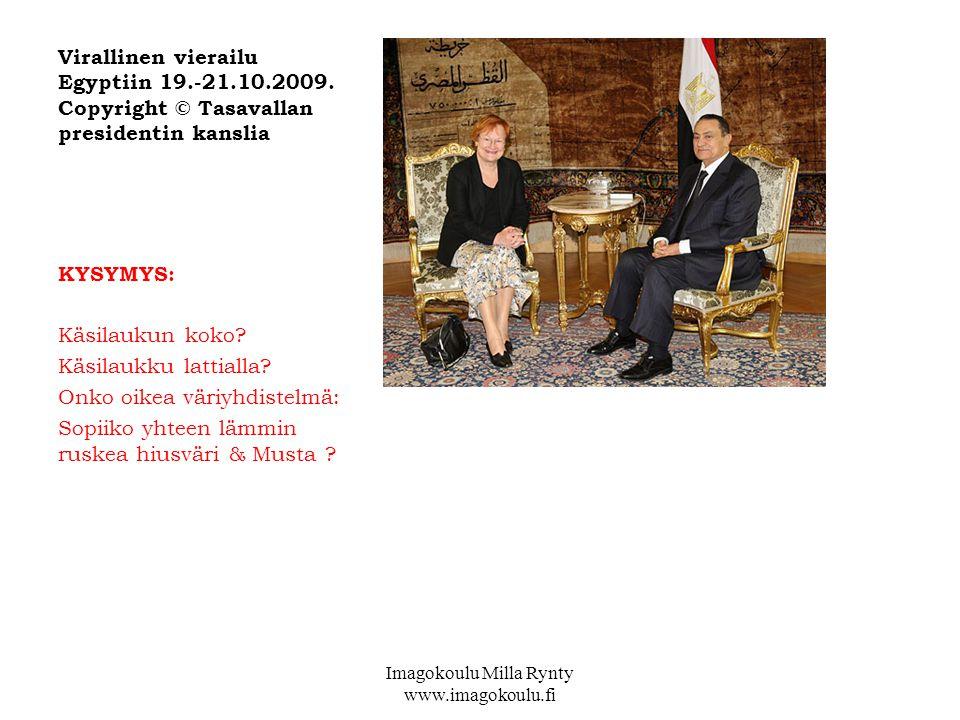 Virallinen vierailu Egyptiin 19.-21.10.2009.