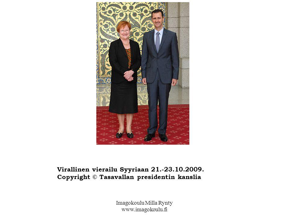 Virallinen vierailu Syyriaan 21.-23.10.2009.