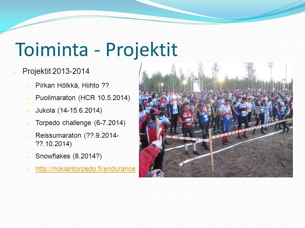 Toiminta - Projektit ● Projektit 2013-2014 – Pirkan Hölkkä, Hiihto .