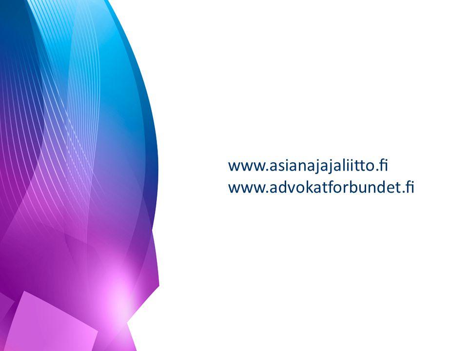 www.asianajajaliitto.fi www.advokatforbundet.fi