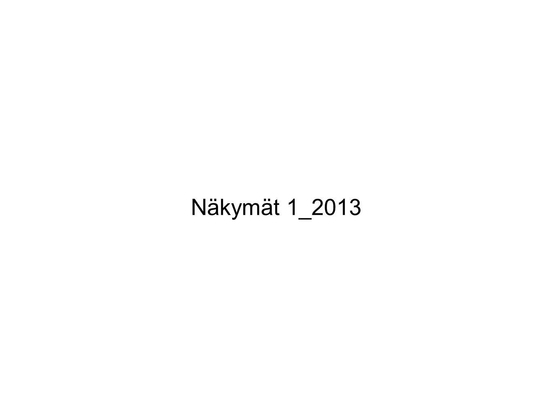 Näkymät 1_2013