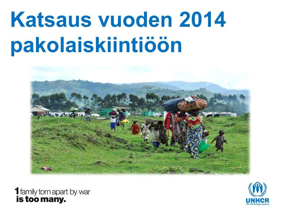 Katsaus vuoden 2014 pakolaiskiintiöön