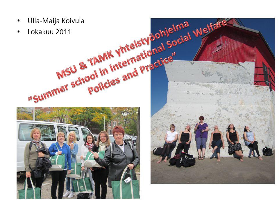 • Ulla-Maija Koivula • Lokakuu 2011