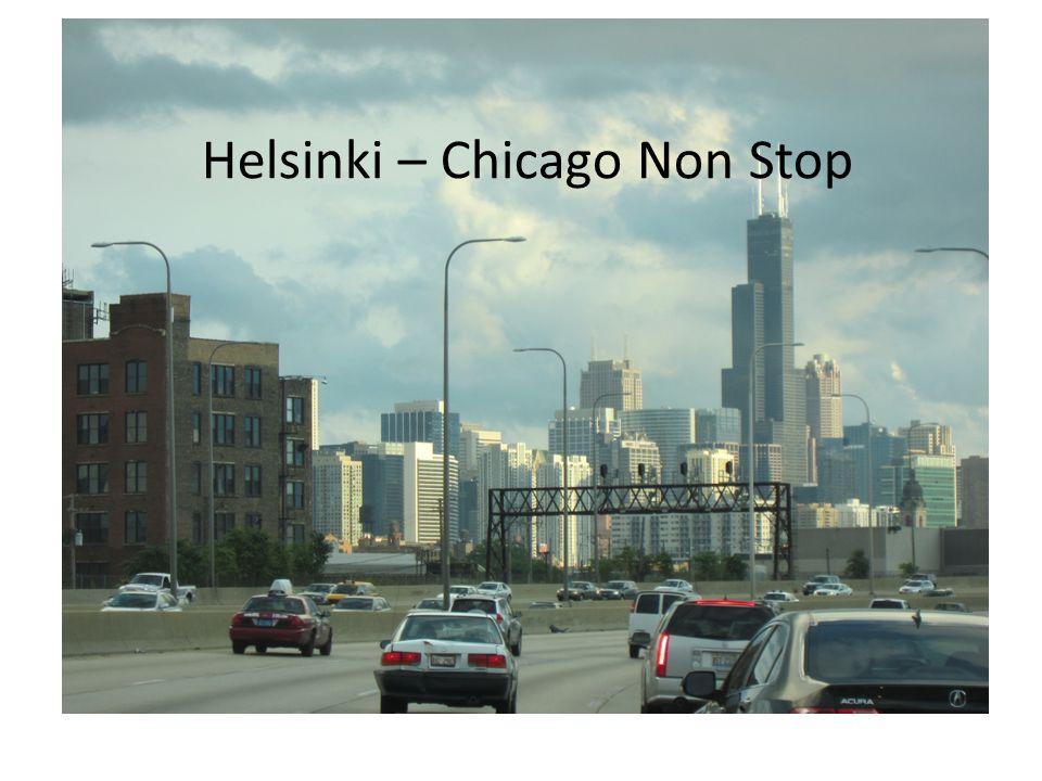 Helsinki – Chicago Non Stop
