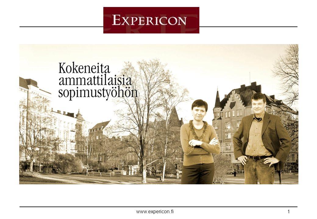 E XPERICON www.expericon.fi1