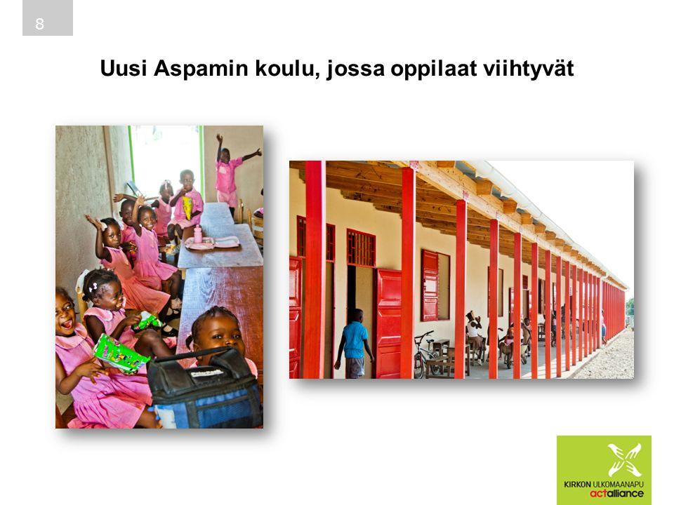 Uusi Aspamin koulu, jossa oppilaat viihtyvät 8