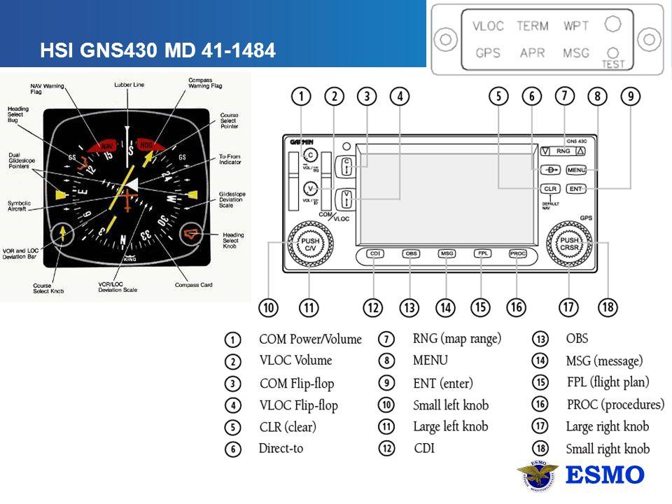 ESMO HSI GNS430 MD 41-1484