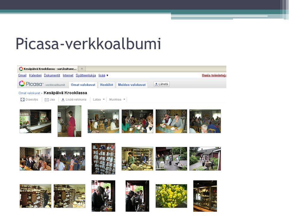 Picasa-verkkoalbumi