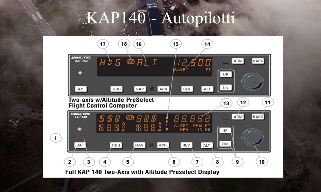 KAP140 - Autopilotti