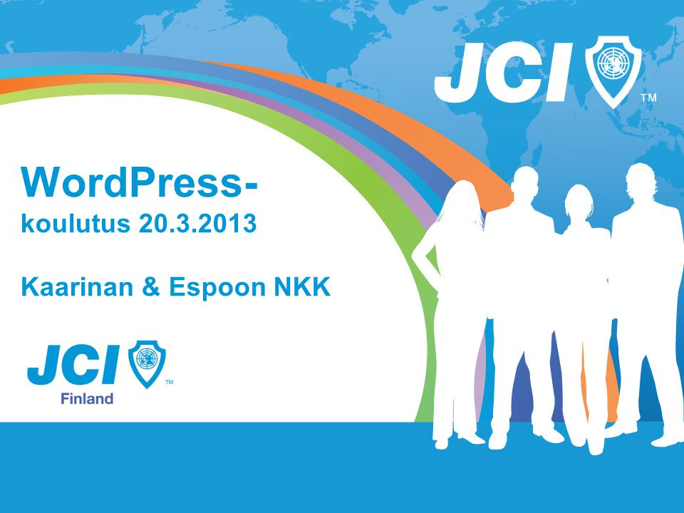 WordPress- koulutus 20.3.2013 Kaarinan & Espoon NKK
