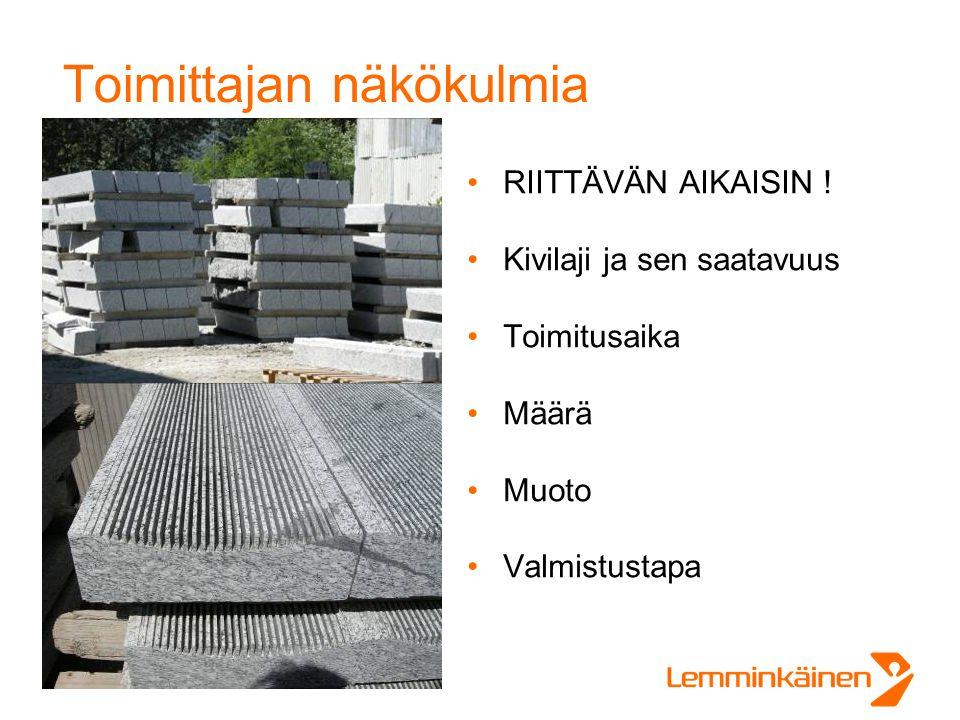 Toimittajan näkökulmia •RIITTÄVÄN AIKAISIN .