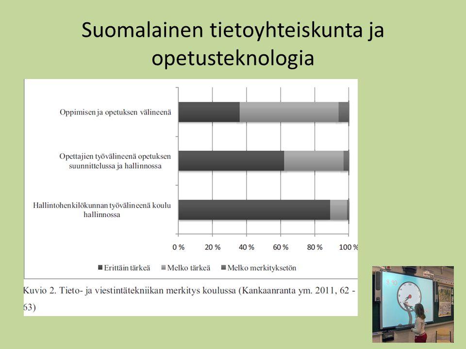 Suomalainen tietoyhteiskunta ja opetusteknologia