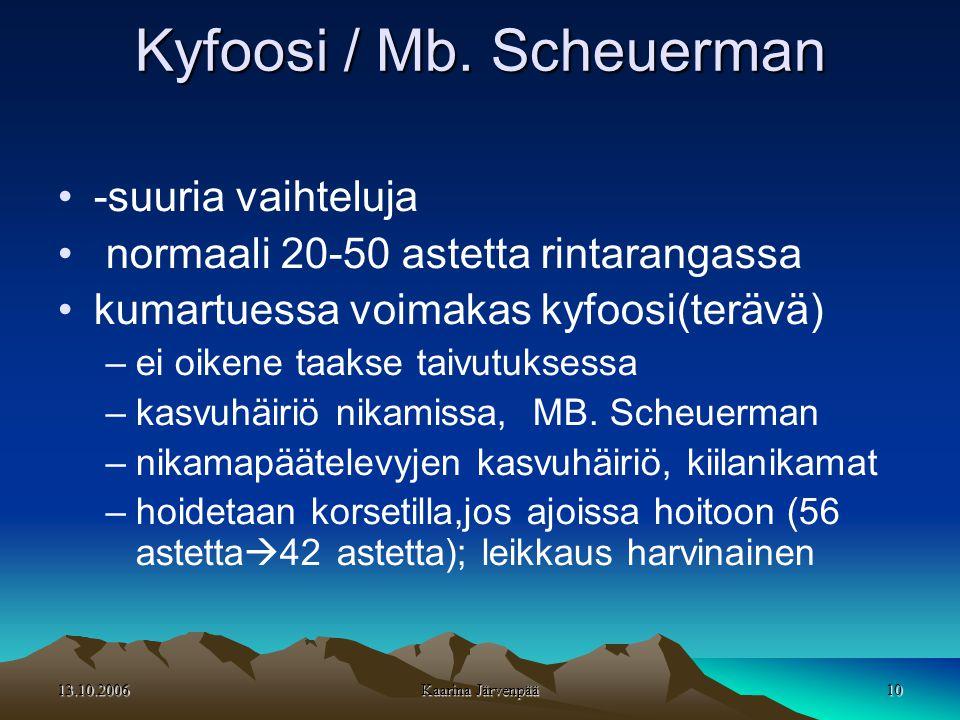 13.10.2006 10 Kyfoosi / Mb.