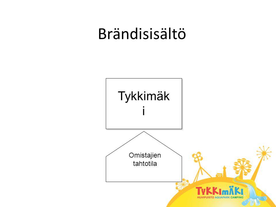 Brändisisältö Tykkimäk i Omistajien tahtotila