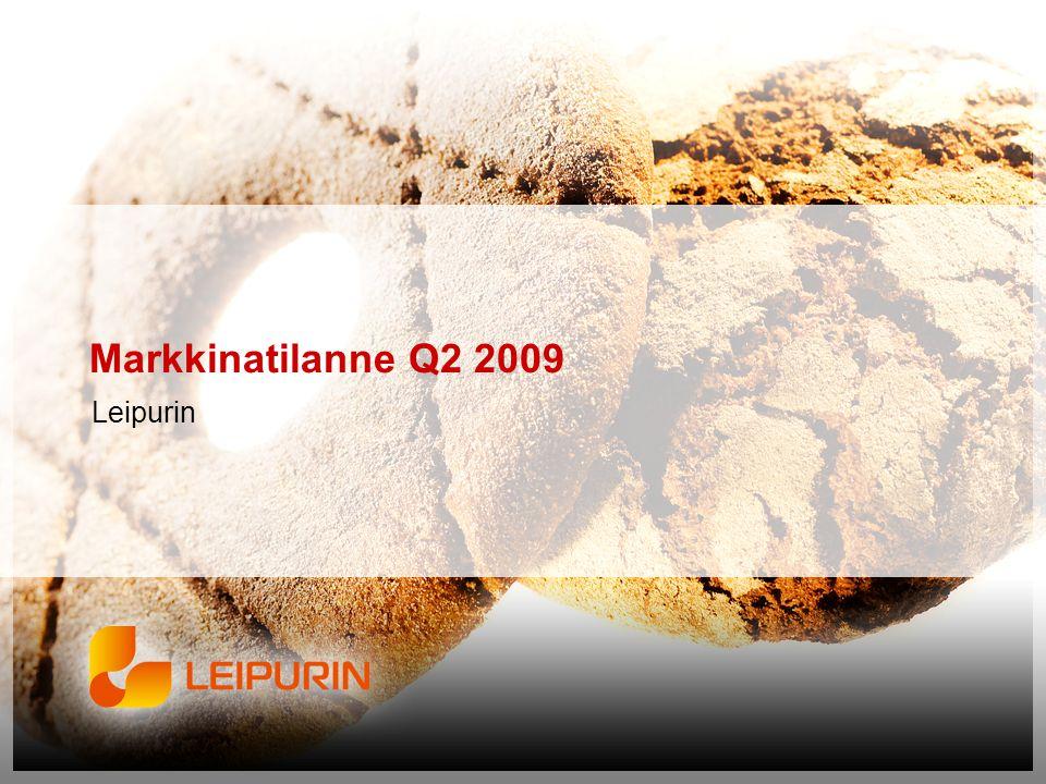 Markkinatilanne Q2 2009 Leipurin