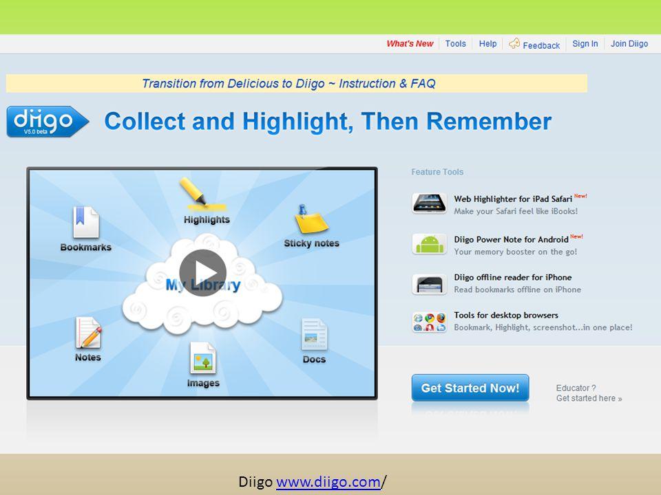 Diigo www.diigo.com/www.diigo.com