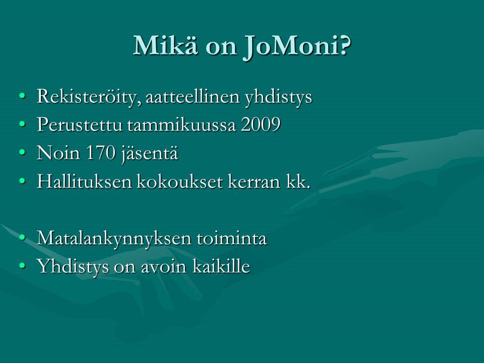 JoMoni Joensuun Seudun Monikulttuurisuusyhdistys Ry