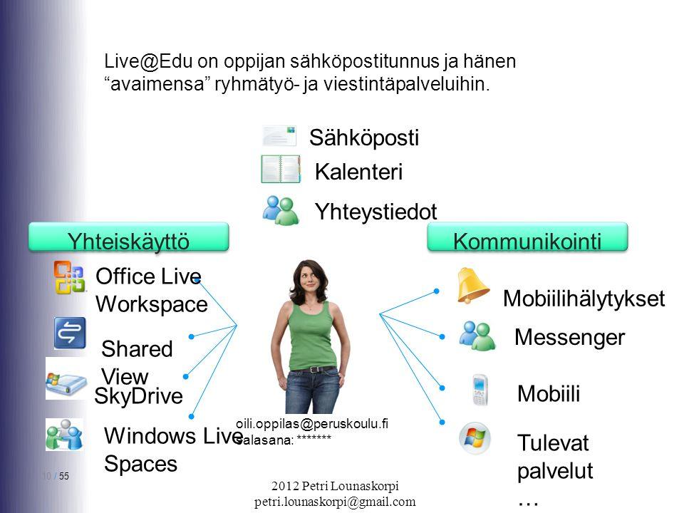 Messenger sähköposti