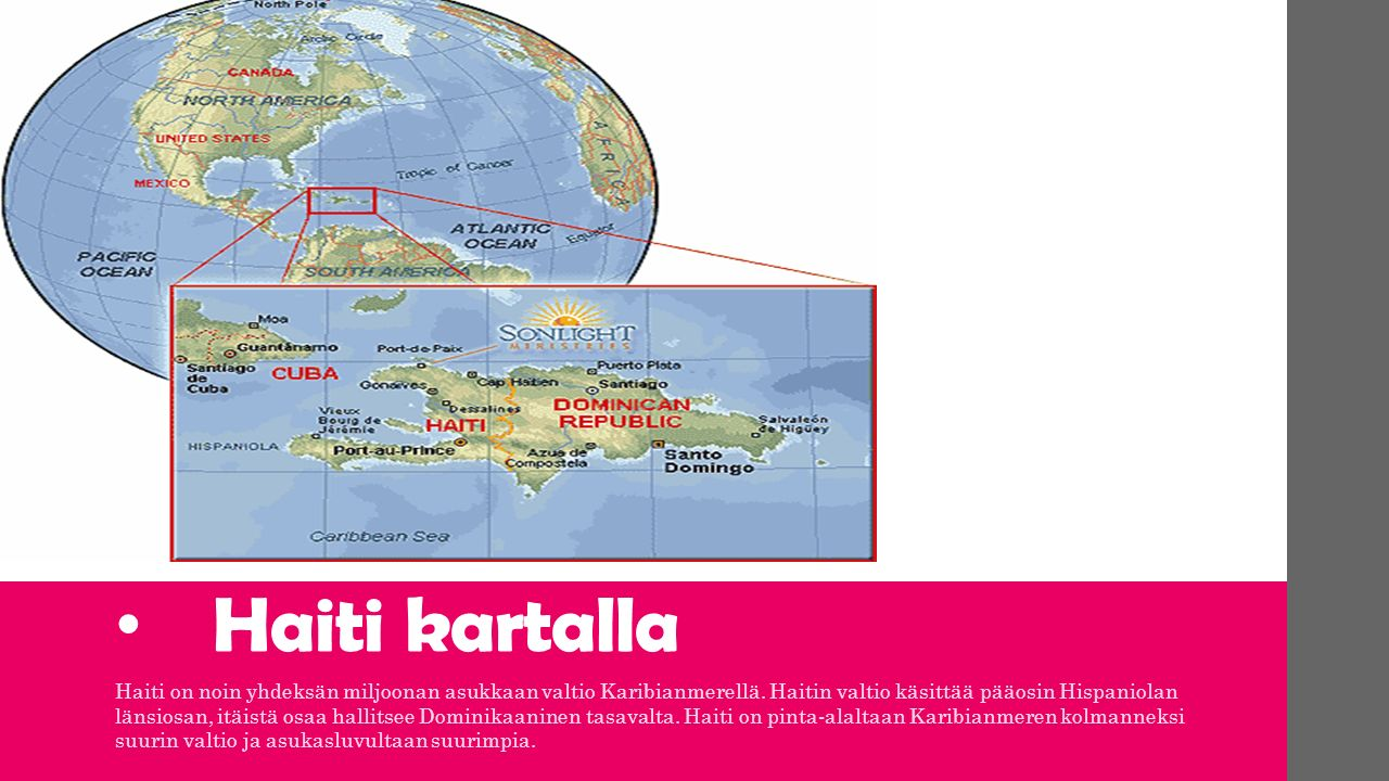 Haiti Paakaupunki Port Au Prince Haitin Kielet Haitin Kreoli Ja